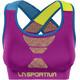La Sportiva Focus Top Women Purple/Apple Green